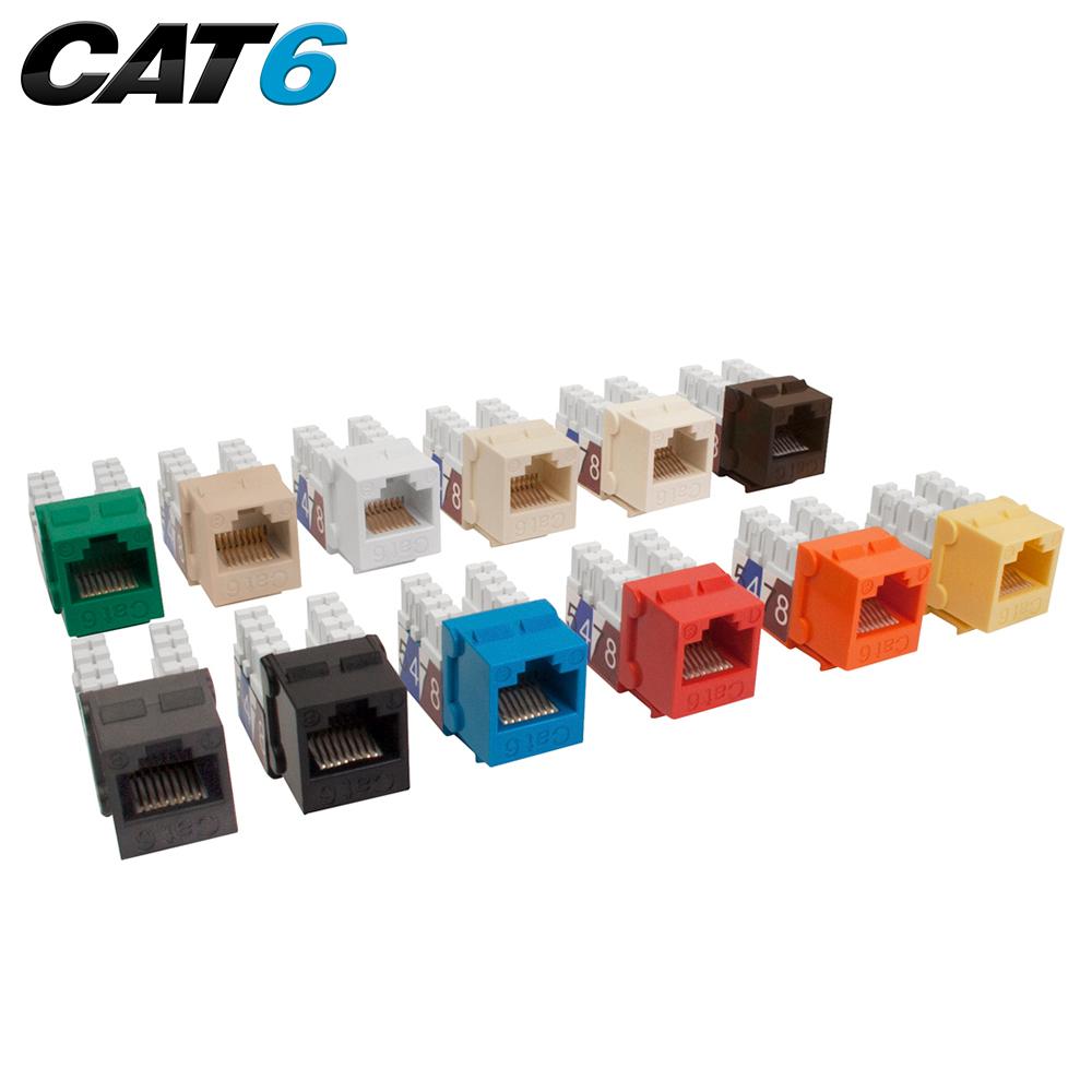 Cat6 Slim Style 90 Degree Keystone Jacks 8p8c Quest Technology Wiring Jack