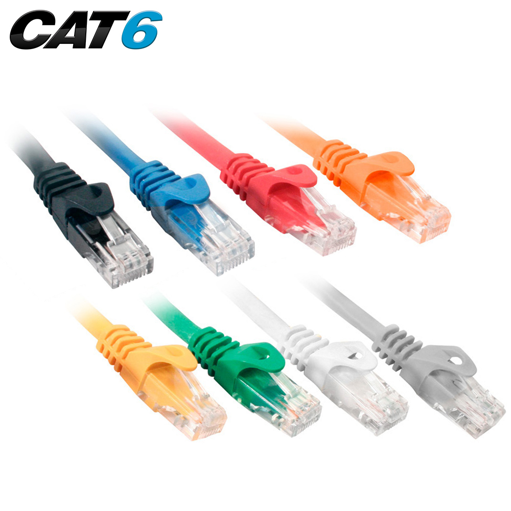 Cat6 Utp 550mhz Snagless Molded Patch Cord Quest Technology Panel Cable Management Together With Cat 6