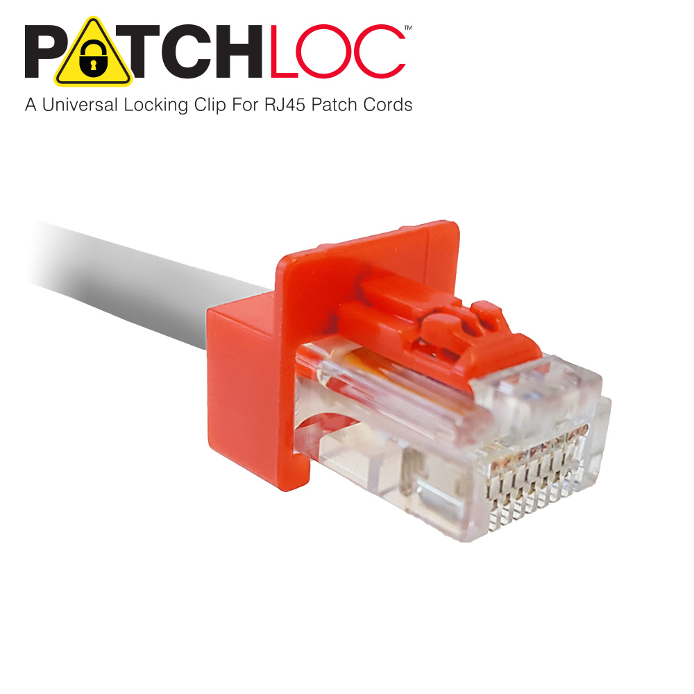 Patchloc Rj45 Locking Clips Quest Technology International Connector Wiring Variations